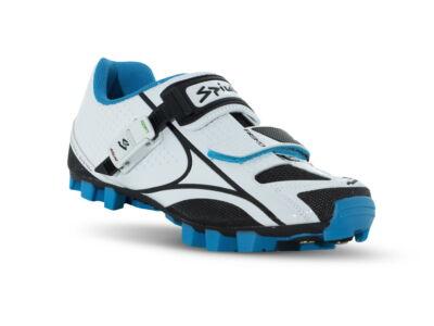 Risko MTB kerékpáros cipő - fehér/fekete(kék)