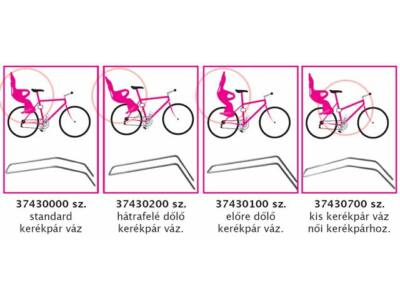 Okbaby tartórúd gyermeküléshez meredek nyeregváz-csöves kerékpárhoz (37430100)