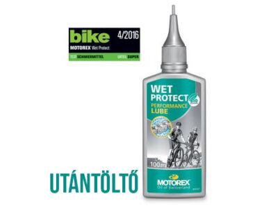 WET PROTECT nedves láncolaj kerékpárhoz, 100ml kimért