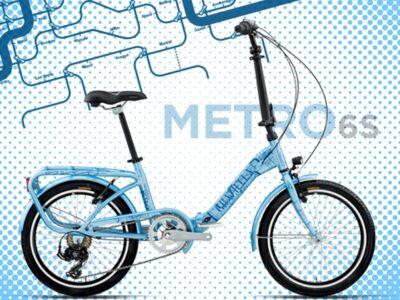 """Bottecchia GRAZIELLA FOLD 6s METRO/STILE LIBERO Összecsukható (20"""") kerékpár"""
