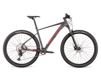 "Dema ENERGY Team 2 dark grey-red 21"" MTB kerékpár"