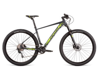 "Dema ENERGY 9 dark grey-neon yellow 17"" MTB kerékpár"