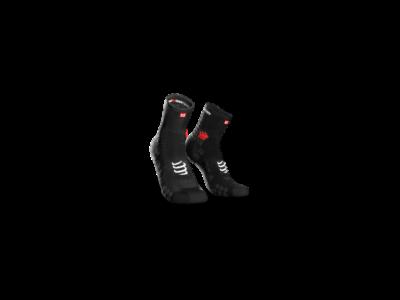 Compressport Pro Racing Socks v3.0 Run fekete bokazokni T2