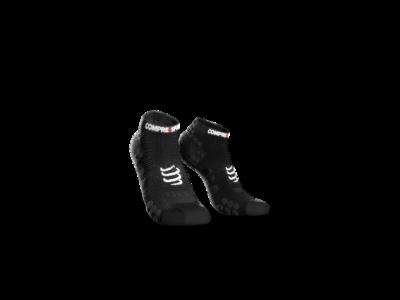 Compressport Pro Racing Socks v3.0 Run fekete titokzokni T1