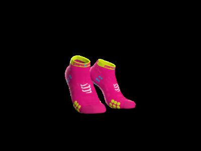 Compressport Pro Racing Socks v3.0 Run pink titokzokni T1
