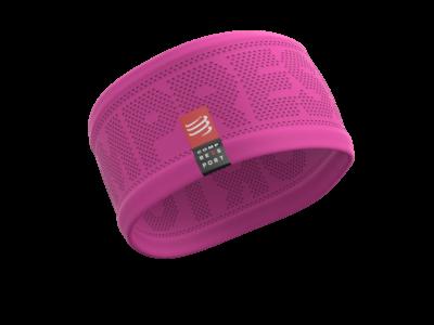 Compressport Headband - pink fejpánt