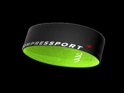 Compressport Free Belt fekete-zöld sportöv, futóöv M/L