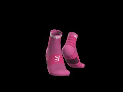 Compressport Training pink sportzokni csomag (2-pár) T1