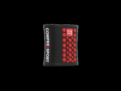 Compressport Sweatbands 3D.Dots BLACK/RED