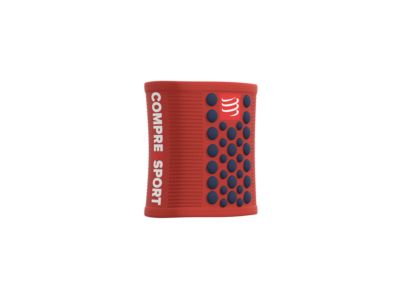 Compressport Sweatbands 3D.Dots BLOOD ORANGE/BLUE