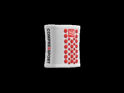 Compressport Sweatbands 3D.Dots WHITE/RED