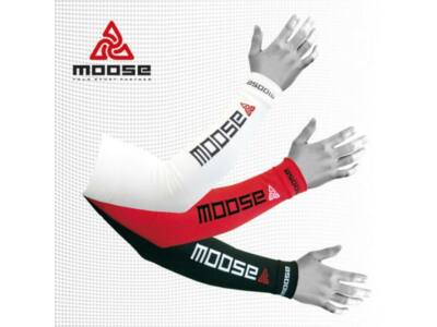 Moose Arm Cover - piros karmelegítő, karszár XL