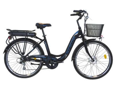 Bottecchia E-BIKE TRK 26X1,75 ALU 7V LI-ION 36V-10AH carrier Elektromos kerékpár