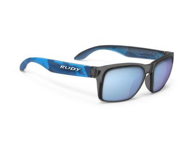 SPINHAWK SLIM NEO CAMO CRYSTAL BLUE/MULTILASER ICE kerékpáros szemüveg