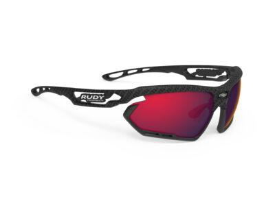 FOTONYK CARBONIUM-BLACK BUMPERS/MULTILASER RED kerékpáros szemüveg