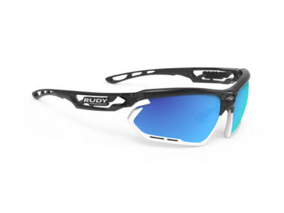 FOTONYK CRYSTAL GRAPHITE-WHITE BUMBERS/MULTILASER BLUE kerékpáros szemüveg