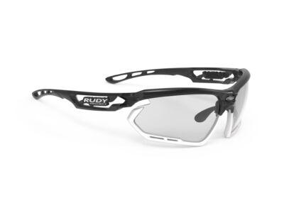 FOTONYK CRYSTAL GRAPHITE-WHITE BUMPERS/IMPACTX2 PHOTOCHROMIC BLACK kerékpáros szemüveg