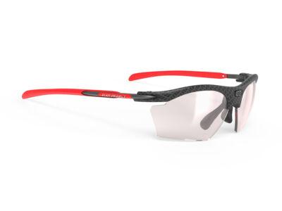 RYDON SLIM CARBONIUM/IMPACTX2 PHOTOCHROMIC LASER RED kerékpáros szemüveg