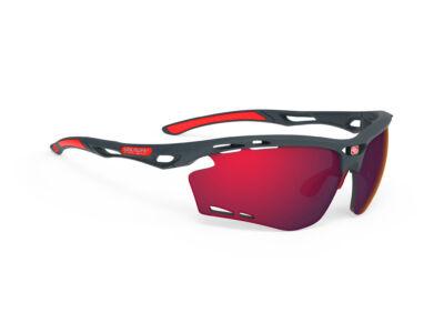 PROPULSE CHARCOAL/MULTILASER RED kerékpáros szemüveg