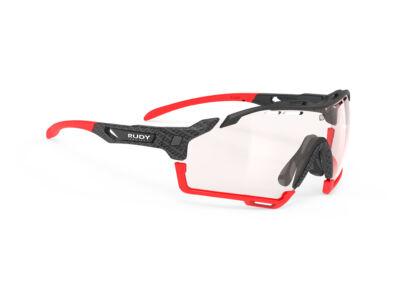 CUTLINE CARBONIUM-BLACK RED BUMPERS/IMPACTX2 PHOTOCHROMIC RED kerékpáros szemüveg