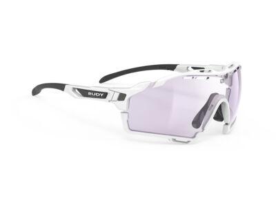 CUTLINE WHITE-WHITE BUMPERS/IMPACTX2 PHOTOCHROMIC LASER PURPLE kerékpáros szemüveg