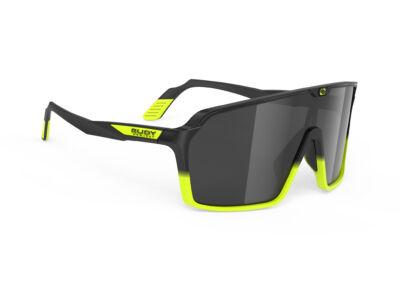 SPINSHIELD BLACK-YELLOW FLUO/SMOKE kerékpáros szemüveg