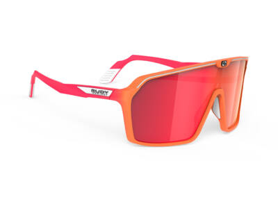 SPINSHIELD MANDARIN FADE-CORAL/MULTILASER RED kerékpáros szemüveg