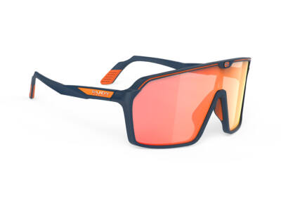 SPINSHIELD BLUE NAVY/MULTILASER ORANGE kerékpáros szemüveg