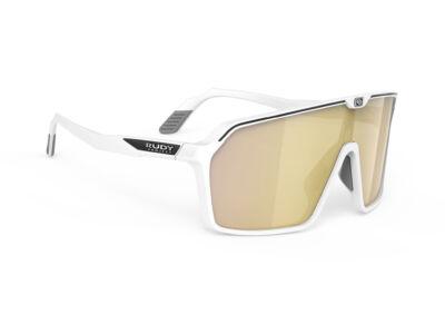 SPINSHIELD WHITE/MULTILASER GOLD kerékpáros szemüveg