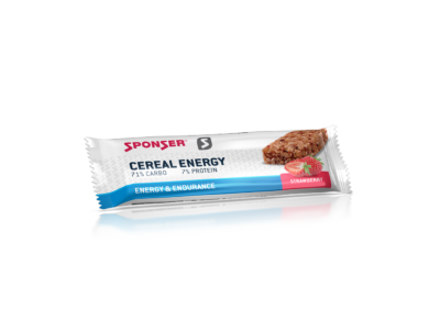 Sponser Cereal Energy müzliszelet 40g, Eper