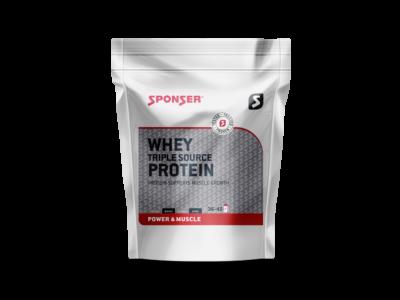 Sponser Whey Triple Source Protein fehérjepor, 500g, több ízben