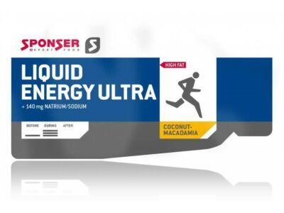 Sponser Liquid Energy Ultra energia gél, 25g