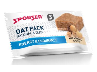 Sponser Oat Pack energia zabszelet 60g, Makadámia