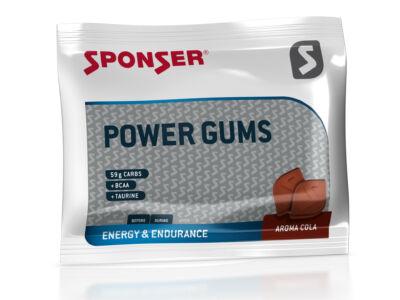 Sponser Power Gums gumicukor koffeinmentes 75g, Cola