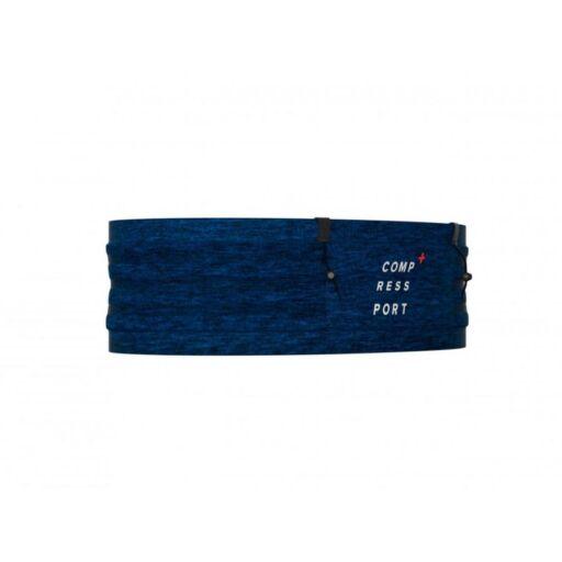 Compressport Free Belt Pro kék professzionális futóöv, sportöv M/L