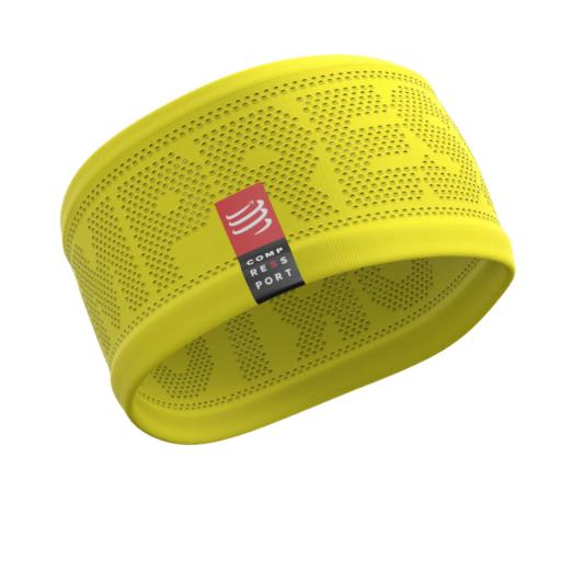 Compressport Headband - sárga fejpánt