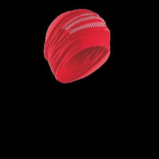 Compressport Headtube - piros csőkendő