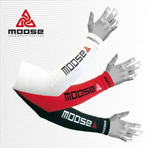 Moose Arm Cover - fehér karmelegítő, karszár SXL