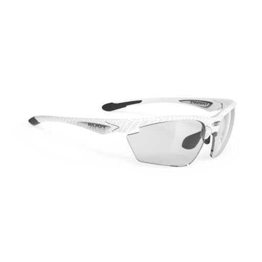 STRATOFLY WHITE CARBONIUM/IMPACTX2 PHOTOCHROMIC BLACK kerékpáros szemüveg
