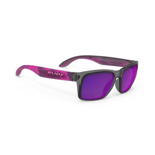 SPINHAWK SLIM NEO CAMO CRYSTAL WINE/MULTILASER VIOLET kerékpáros szemüveg
