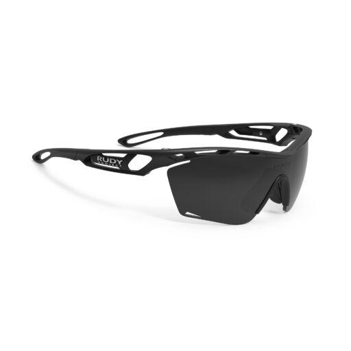 TRALYX SLIM BLACK/SMOKE BLACK kerékpáros szemüveg