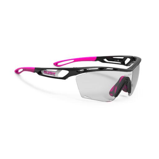 TRALYX SLIM BLACK-PINK/IMPACTX2 PHOTOCHROMIC BLACK kerékpáros szemüveg