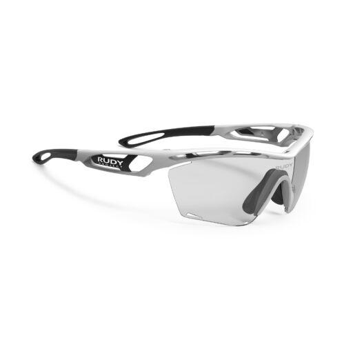 TRALYX SLIM WHITE/IMPACTX2 PHOTOCHROMIC BLACK kerékpáros szemüveg