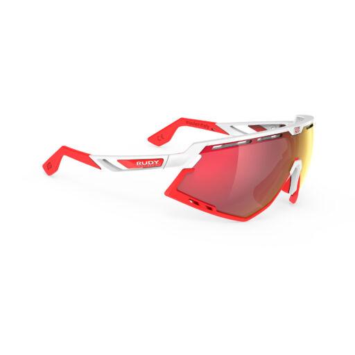 DEFENDER WHITE-RED BUMPERS/MULTILASER RED kerékpáros szemüveg