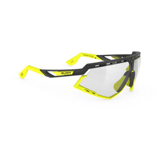 DEFENDER BLACK-YELLOW FLUO/IMPACTX2 PHOTOCHROMIC LASER BLACK kerékpáros szemüveg