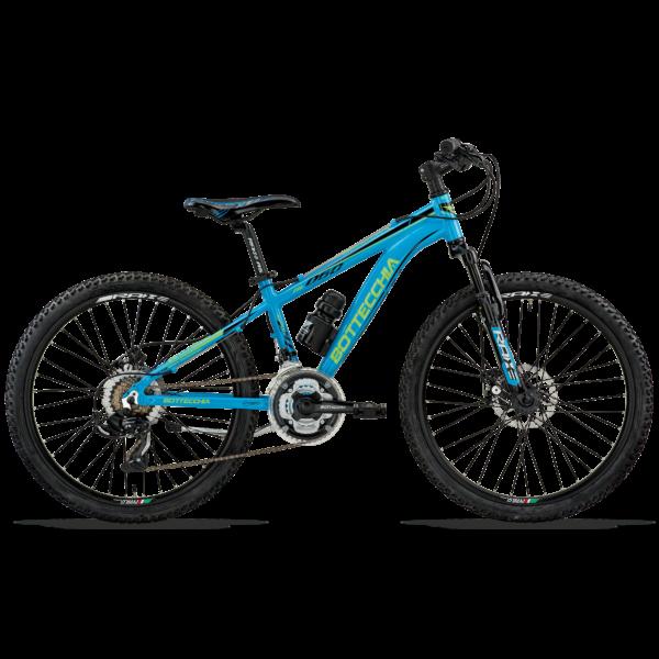 """MTB 24"""" ALU FRONT S. 21V TY300 DISK 2020 Bottecchia 061 BOY ALU DISK Gyermek kerékpár"""