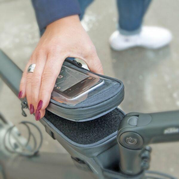 SKS-Germany Traveller Smart táska felsőcsőre [fekete]