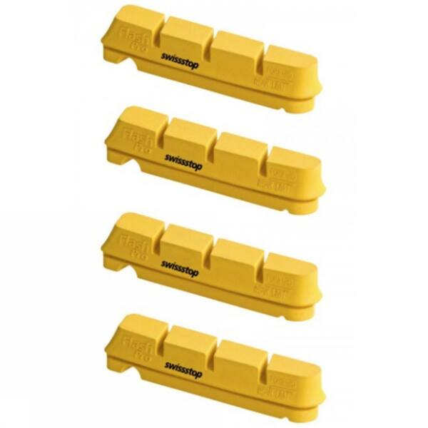 Fékpofa Swiss Stop FlashPRO Yellow King Shimano/SRAM országúti karbon 4 db