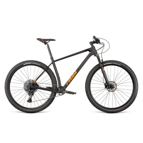 "Dema REBELL Comp black-orange 21"" MTB kerékpár"