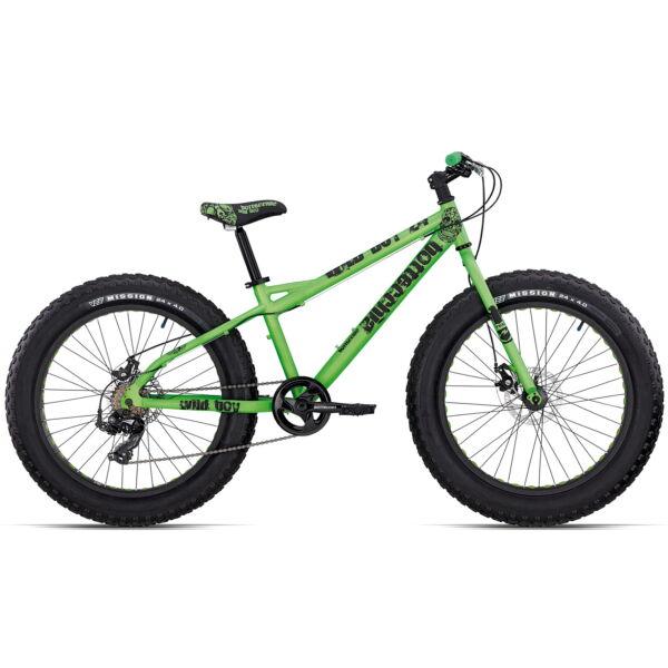 """FAT WILD BOY 24"""" ALU 7V TX 55 DISK 2019 Bottecchia 070 FAT WILD BOY DISK Gyermek kerékpár"""